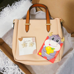 CNY Hampers Bag & Earrings (by Lumiere Bag)