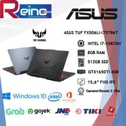 ASUS TUF FX506LI-I75TB6T i7-10870H 8GB 512GBSSD GTX1650Ti 4GB W10 OHS