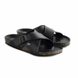 Sandal Slide Pria Luck Black