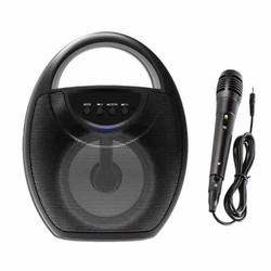 Speaker Bluetooth Karaoke YD-706 LED Wireless Speaker Plus MIC