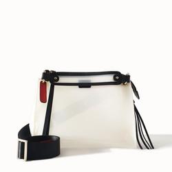 Dapoza Arm Candy Latte Midi Tas Selempang PVC Transparan Wanita
