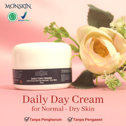 MONSKIN Daily Day Cream with Sunscreen for Normal – Dry Skin 10 g