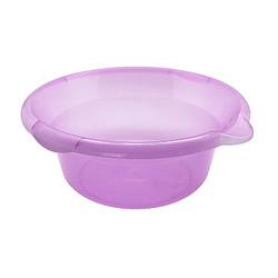 Kiramas Baskom UFO 6,2 Liter 3216 - Purple/Wadah Makanan Transparan