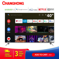 Changhong Framless Google certified Android Smart 40 Inch LED TV L40H7