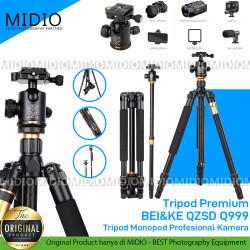 Tripod Premium BEI&KE QZSD Q999 Tripod Monopod Profesional Kamera