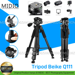 Tripod Premium BEI&KE QZSD Q111 Tripod Monopod Profesional Kamera