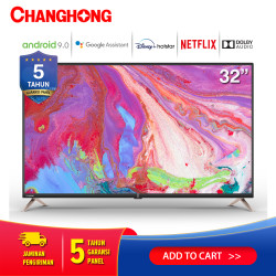 New Changhong 32 Inch Android 9.0 Smart TV Netflix LED TV L32K2
