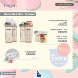 Hegen I Love Kids & Mom (Package)