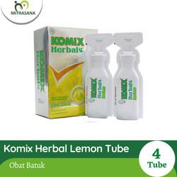 Komix Herbal Lemon 4 Tube/15 Ml
