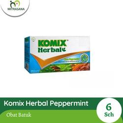 Komix Herbal Peppermint 6 Sch