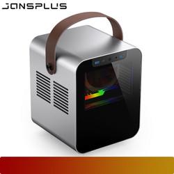 JONSPLUS BO 100 SILVER   MINI ITX CASE