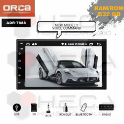 ORCA ADR-7688 Voice Command Android 7 inch Head Unit Double Din 7""