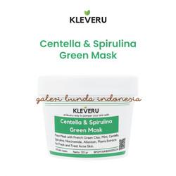 KLEVERU Organics Centella and Spirulina Green Mask 120 gr