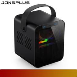 JONSPLUS BO 100 BLACK   MINI ITX CASE
