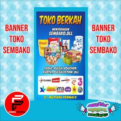Jual Spanduk Toko Sembako Terlengkap Harga Murah Grosir August 2021