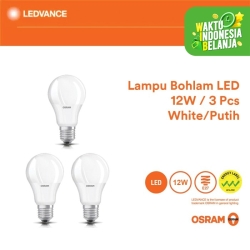Osram Lampu Bohlam LED 12 Watt 3 Pcs - Putih