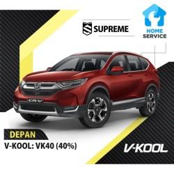 Kaca Film Mobil Depan V-Kool VK40 Honda CRV