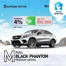 Kaca Film Mobil Full Solar Gard Premium Black Phantom Medium Car