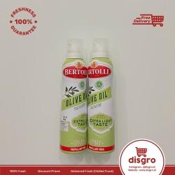 Bertolli extra Light olive oil spray 145ml minyak bertoli sprai 145 ml