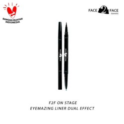 FACE 2 FACE On Stage Eyemazing Liner Dual Effect