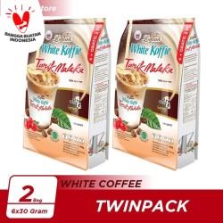 Kopi Luwak White Koffie Tarik Malaka Bag 6x30gr Twin Pack