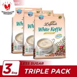 Kopi Luwak White Koffie Less Sugar Bag 20x20gr Triple Pack