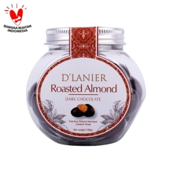 D'Lanier Chocolate Roasted Almond with Dark Chocolate (100gr)