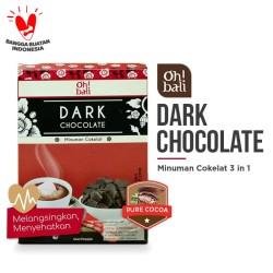 Oh!Bali Dark Chocolate Drink 3in1 Chocolate Powder 30g