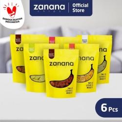 Paket Zanana #DiRumahAja 1   6 pcs Zanana