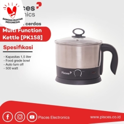 Pisces Kettle Multi Fungsi 1.5 Liter PK158