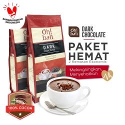 Oh!bali Dark Chocolate Drink 3in1 Chocolate powder 500g x 2box
