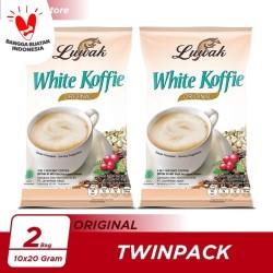 Kopi Luwak White Koffie Original Bag 10x20gr Twin Pack