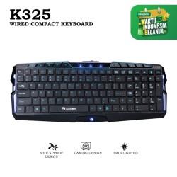 Marvo Keyboard Gaming K325 Wired Compact Keyboard