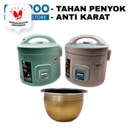 """TapTap MANTAP"" Denpoo Rice Cooker DMJ 881 Stainless Steel 1.8L 3in1"