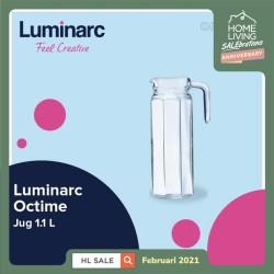 Luminarc Pitcher Octime - Jug 1.1 L