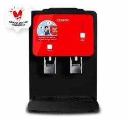 Denpoo Water Dispenser SNOW Hot & Cold Low Watt 190, Black Frame Red