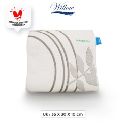 Bantal Pinggang Ergonomic Latex/Willow Pillow Ergo Back Cushion Latex