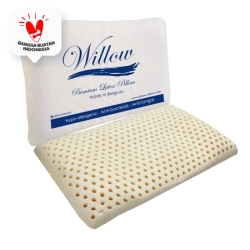 Bantal Latex Tidur Tengkurap / Willow Pillow Ergonomic 474 Knitting
