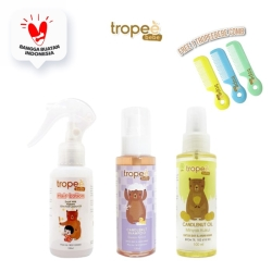 Tropee Bebe - Paket Minyak & Shampo Kemiri & Lotion Rambut 100ml