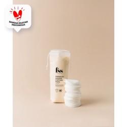 Premium Round Cotton Pads (Kapas wajah) FSS For Skin's Sake