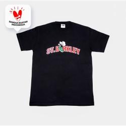 Kaos Saint Barkley Pot Logo Black