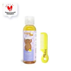 Tropee Bebe - Shampo Kemiri (Candlenut Shampoo) 100ml Set Sisir