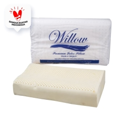 Bantal Latex Ergonomic Jumbo / Willow Pillow Ergonomic Jumbo