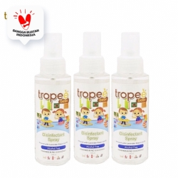 Tropee Bebe - Disinfectant Spray 100ml Triple Pack