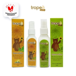 Tropee Bebe - Telon Lotion Double Pack (Baby Blossom & Orange Blossom)