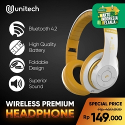 Headphone Bluetooth Naxen V40 Headset Bluetooth Wireless Extrabass