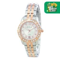 [original] Bonia Rosso BR146-2655S Jam Tangan Wanita Analog Silver