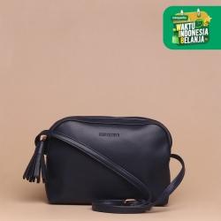 Tas Selempang Wanita Silvertote Zarah N2 Sling Bag Black