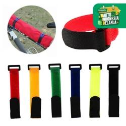 Velcro Strap Tali Sepeda Multifungsi Tali Pengikat Serbaguna 2 x 30 cm