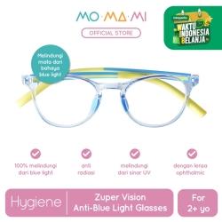 Momami Zuper Vision Anti-Blue Light Glasses - Blue/Yellow